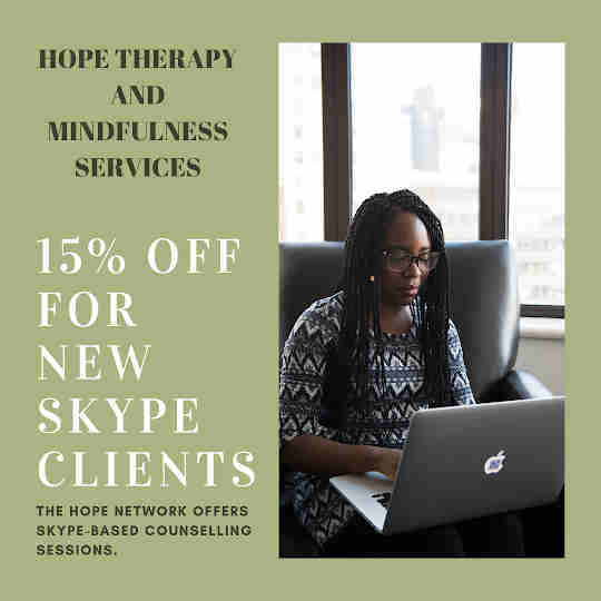 Discount for new clients - Hope therapy