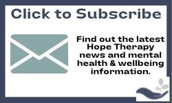 Subscribe to Hope Therapy and counselling services newsletter